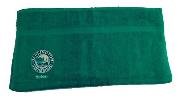 DASC Towel with embroidered logo