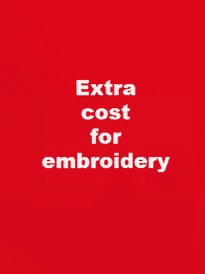 Extra for embroidery
