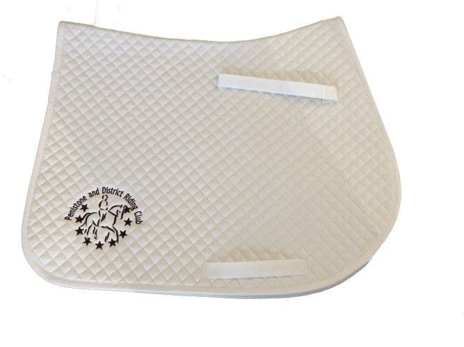 Penistone and District RC White GP Saddlecloth