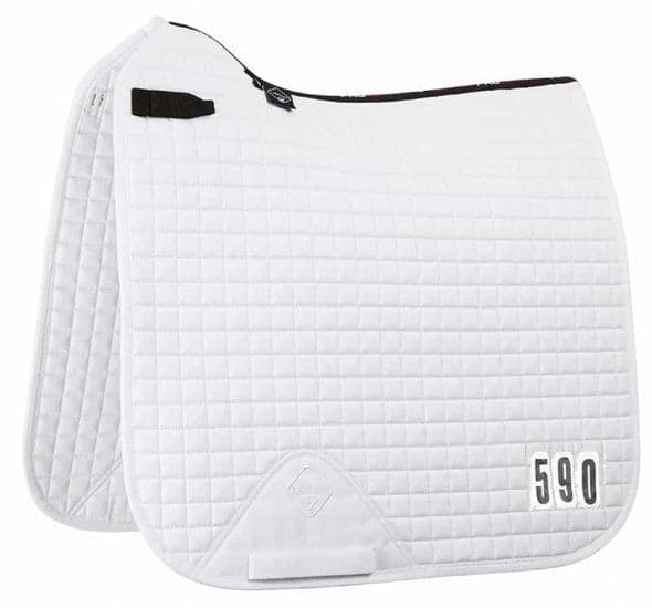 ProSport Le Mieux Dressage Square White Competition (numbers provided)