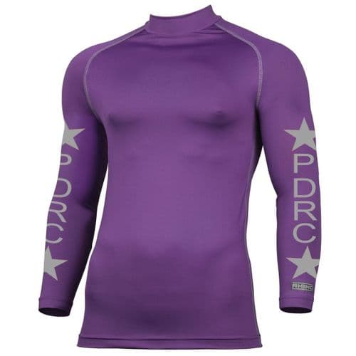 PURBECK DISTRICT RIDING CLUB CHILDS Purple Base Layers