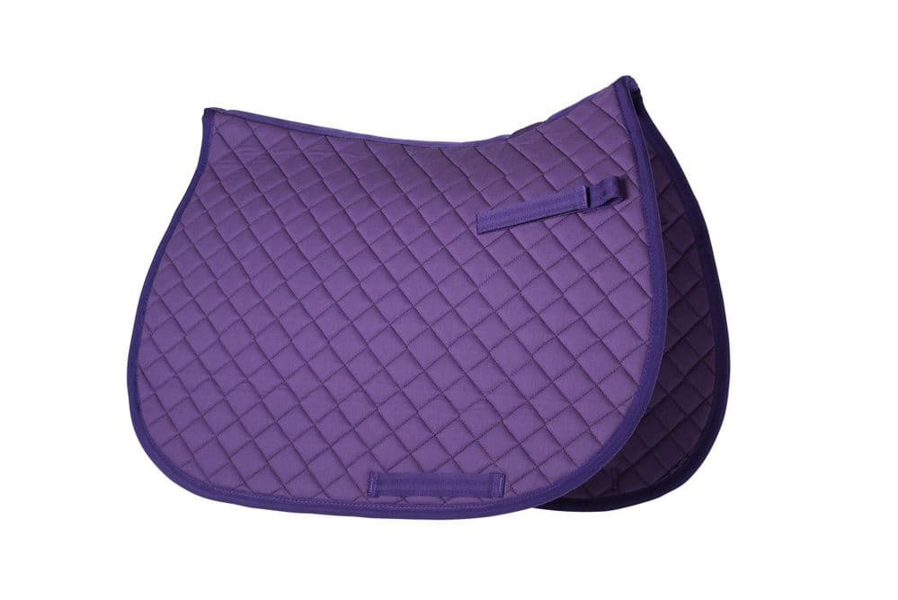 Purple Personalised Saddlecloth