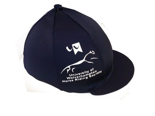 University of Wolverhampton Navy Silk With White Logo on the side
