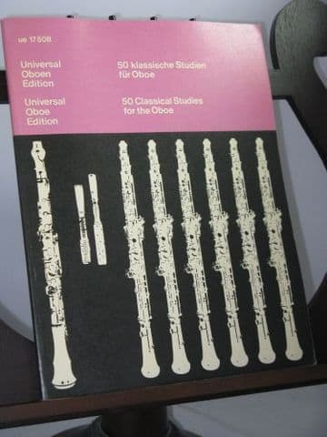 50 Classical Studies for the Oboe