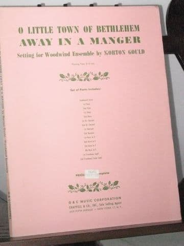 Away in a Manger & O Little Town Of Bethlehem arr Gould M