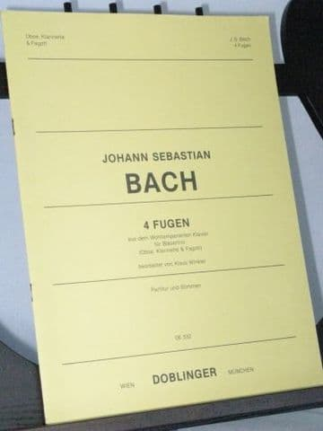 Bach J S - 4 Fugues from the Well-Tempered Clavier arr Winkler K