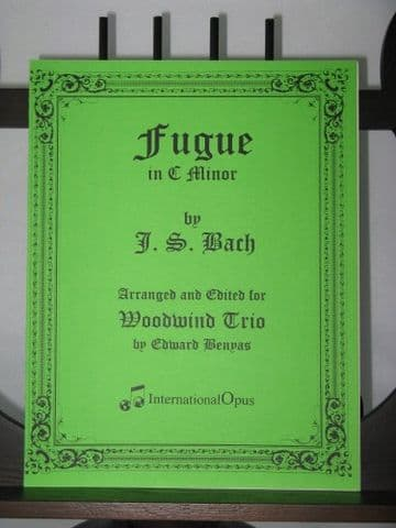 Bach J S - Fugue in C Minor arr Benyas E