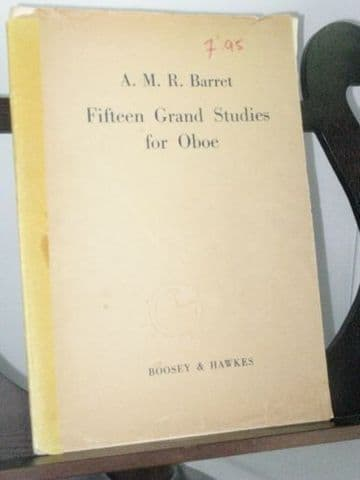 Barret A M R - Fifteen Grand Studies for Oboe