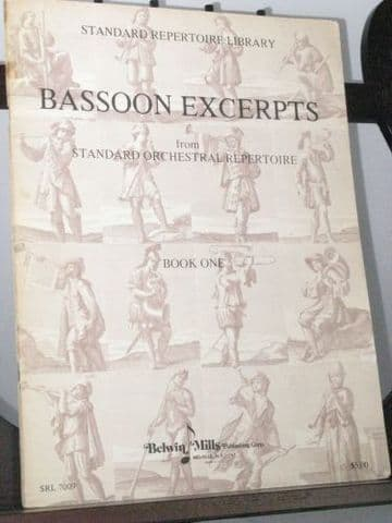 Bassoon Excerpts from Standard Orchestral Repertoire Book 1