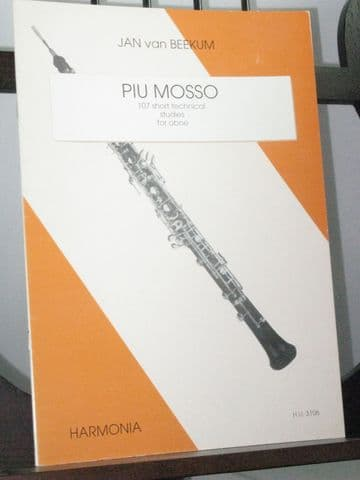 Beekum J van - Piu Mosso 107 Short Technical Studies for Oboe