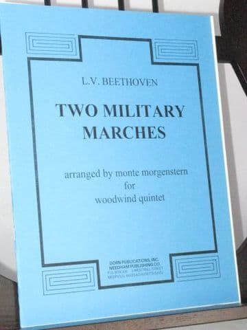 Beethoven L van - Two Military Marches arr Morgenstern M