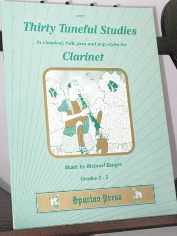 Benger R - Thirty Tuneful Studies for Clarinet