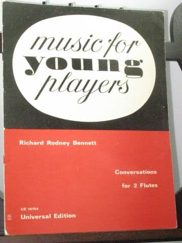 Bennett R R - Conversations for Two Flutes