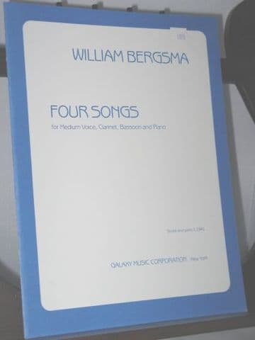 Bergsma W - Four Songs