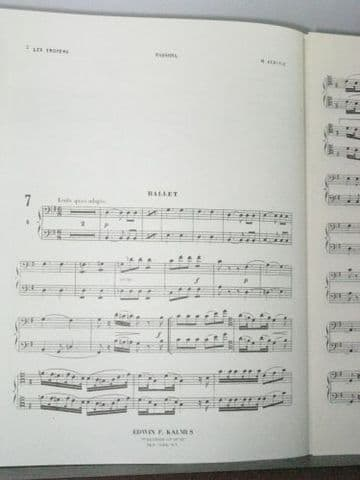 Berlioz H - Ballet parts A-C from Les Troyens Bassoons 1&2 Part