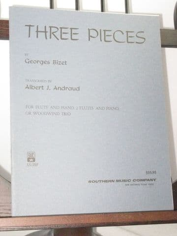 Bizet G - Three Pieces arr Andraud A J