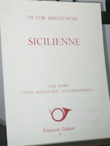 Brightmore V - Sicilienne for Horn & Piano