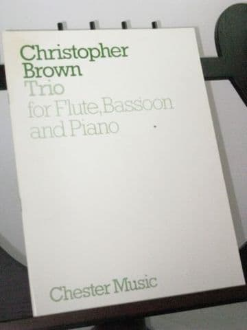 Brown C - Trio Op 36a for Flute Bassoon and Piano