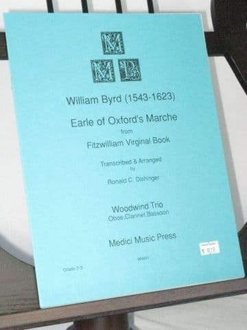 Byrd W - Earle of Oxford's Marche (Fitzwilliam Virginal Book) arr Dishinger R C