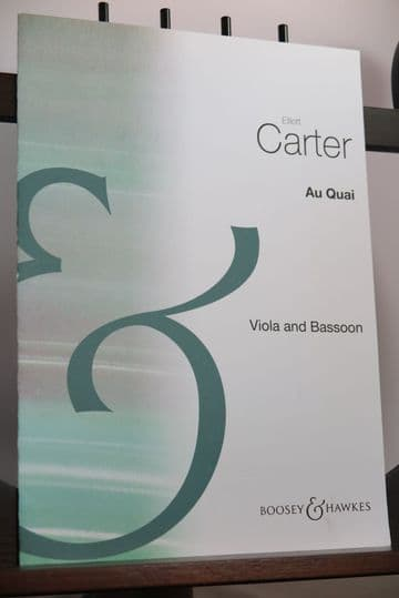 Carter E - Au Quai for Viola & Bassoon