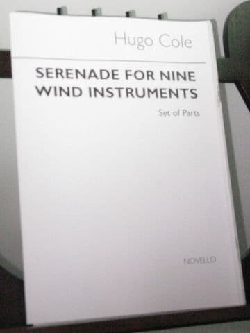 Cole H - Serenade for Nine Wind Instruments