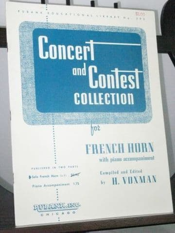 Concert & Contest Collection for French Horn arr Voxman H