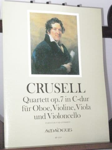 Crusell B H - Quartet in C Op 7 for Oboe Violin Viola & Violoncello