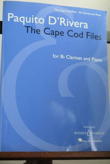 D'Rivera P - The Cape Cod Files for Clarinet & Piano