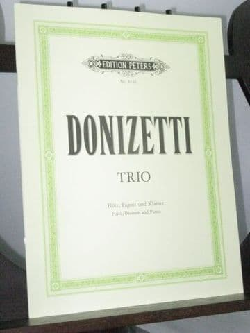 Donizetti G - Trio for Flute Bassoon & Piano