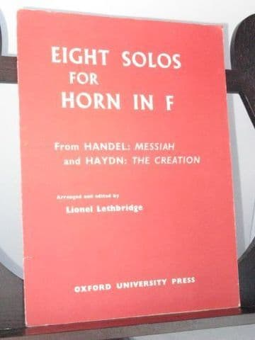 Eight Solos from Handel Messiah & Haydn The Creation arr Lethbridge L