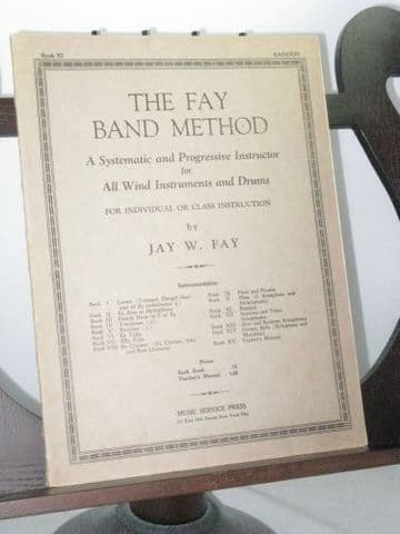 Fay J W - The Fay Band Method Book 11 Bassoon