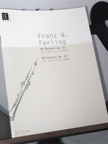 Ferling F W - 48 Studies Op 31 for Oboe Solo (1840)