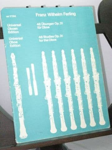 Ferling F W - 48 Studies Op 31 for the Oboe