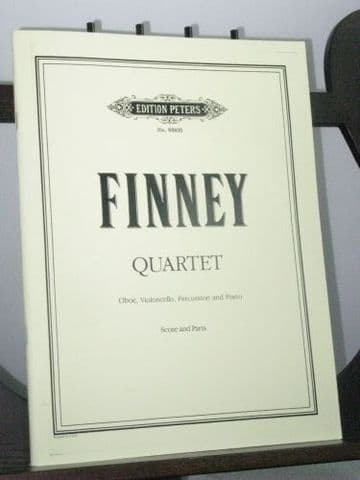 Finney R L - Quartet for Oboe Violoncello Percussion and Piano