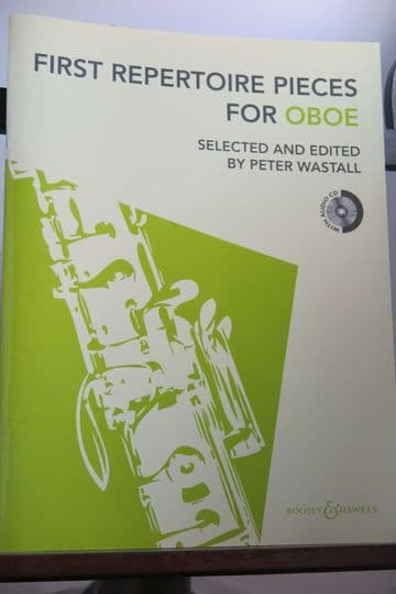 First Repertoire Pieces for Oboe arr Wastall P
