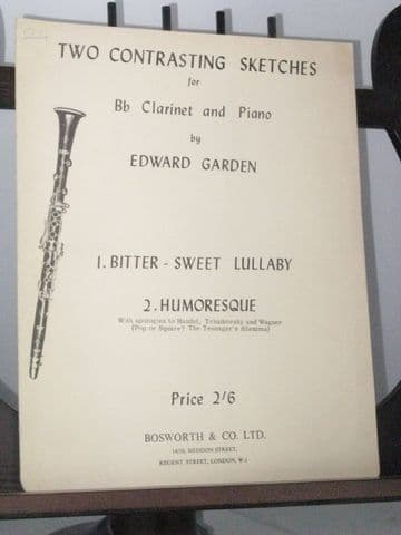 Garden E - Two Contrasting Sketches for Clarinet & Piano