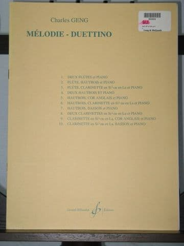 Geng C - Melodie - Duettino