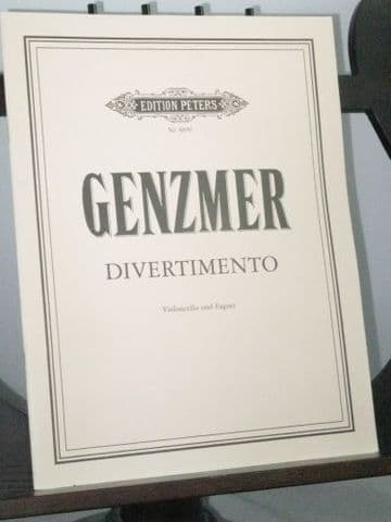 Genzmer H - Divertimento for Violoncello and Bassoon