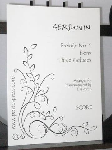 Gershwin G - Prelude No 1 from Three Preludes arr Portus L