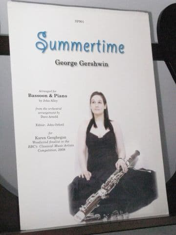 Gershwin G - Summertime for Bassoon & Piano arr Alley J