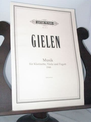 Gielen M - Musik for Clarinet Viola & Bassoon