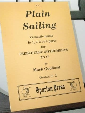 Goddard M - Plain Sailing for Treble Clef Instruments in C