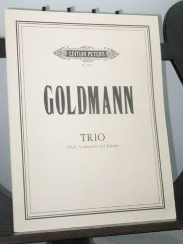 Goldmann F - Trio for Oboe Violoncello and Piano