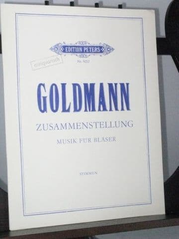 Goldmann F - Zusammenstellung Music for Winds