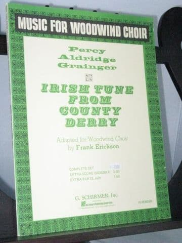 Grainger P A - Irish Tune from County Derry arr Erickson F