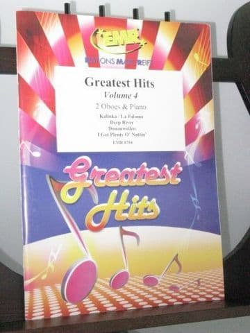 Greatest Hits for 2 Oboes & Piano Vol 4 arr Sedlak J