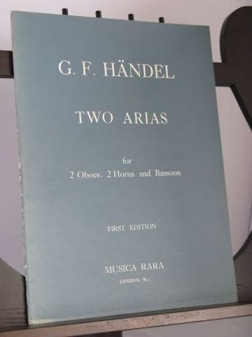Handel G F - Two Arias