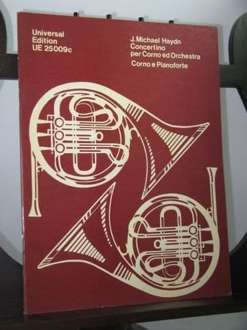 Haydn J M - Horn Concertino arr for Horn & Piano