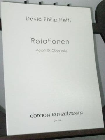 Hefti D P - Rotationen for Solo Oboe