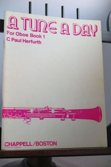 Herfurth C P - A Tune a Day for Oboe Book 1